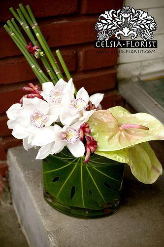 Vase arrangement by vancouver celsia florist floral