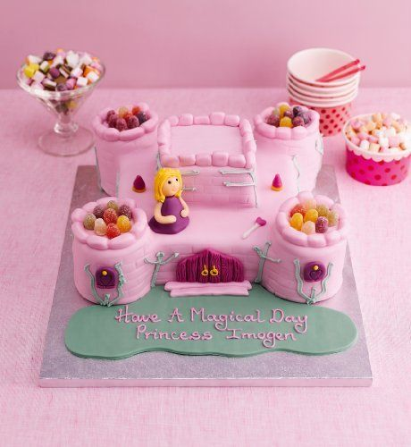 Princess Castle Cake Olivia D Abo Birthday Cakes And