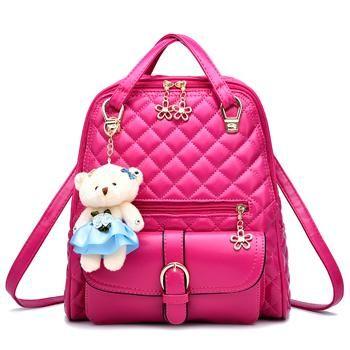 Korean Fashion Women Girls Cute Solid Candy Color Sling BD*