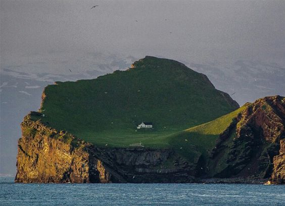 Rumored on the internet to be Björks home, given to her in appreciation for her work as a cultural ambassador of Iceland, this house may actually just be a hunting lodge for a local hunting association.