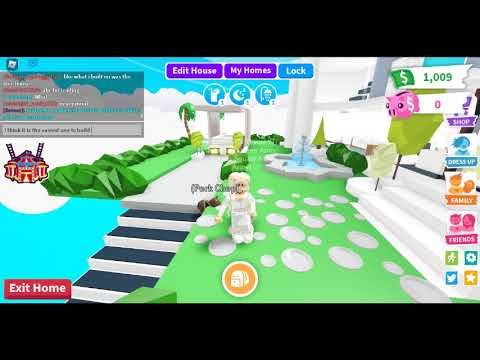 Roblox Adopt Me How To Do A Glitch Build Youtube Adoption Cute Room Ideas Roblox