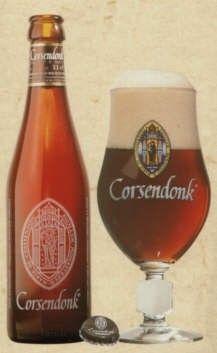 Cerveja Corsendonk Pater Dubbel, estilo Belgian Dubbel, produzida por Corsendonk, Bélgica. 7.5% ABV de álcool.