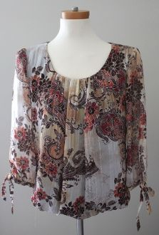 Hand selected for Warm Autumn by an expert color analyst! print top $12