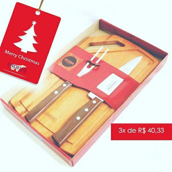 Para eles! Kit churrasco Inox 3 peças!  Para comprar, acesse: www.diorsidecor.com.br WhatsApp (12) 9 9715 2022 comercial@diorsidecor.com.br  Condições especiais para arquitetos e decoradores!