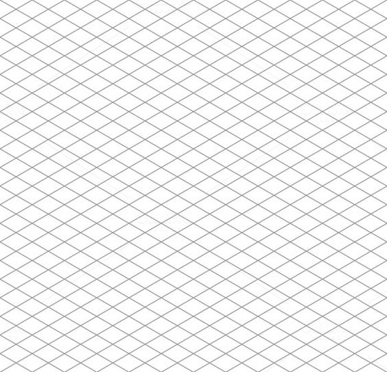 Isometric grid seamless pattern by @Graphicsauthor Graphics - isometric graph paper