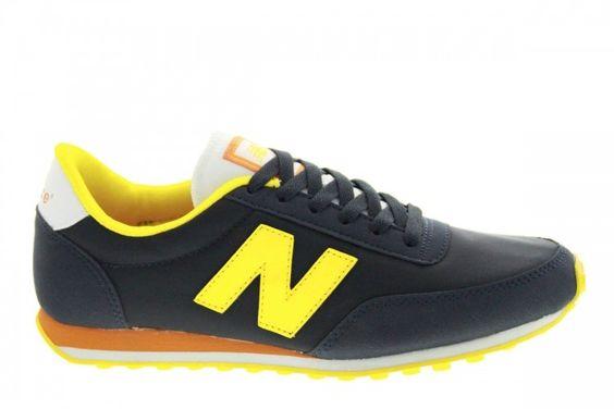 Chaussures New Balance U410 Pour Femme - coloris: noir/jaune