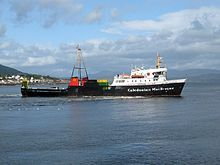 Caledonian MacBrayne - Wikipedia, the free encyclopedia