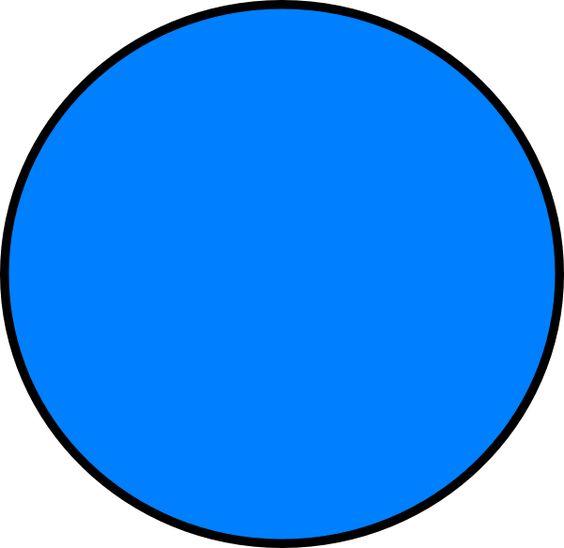 blue circle clip art - photo #21