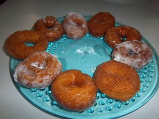 Egg free, dairy free, nut free donuts