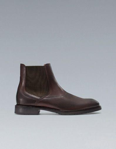 chaussures homme classe zara. Black Bedroom Furniture Sets. Home Design Ideas