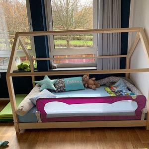 Kinderbett Hausbett 140x200 Cm House Beds Bed Outdoor Bed