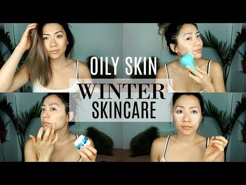 Winter Nighttime Skincare Routine For Oily Skin How To Hydrate Oily Combo Skin Youtube Skincare For Oily Skin Daily Skin Care Face Care Tips