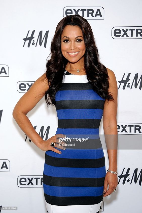 tracey edmonds | Tracey Edmonds co-hosts 'Extra' at their New York studios at…