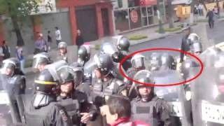 """vía Vladimir Alexei Chorny Elizalde   """"...Aquí están los 22 videos documentados por la Comisión de Derechos Humanos del Distrito Federal... ...donde se muestra: 1. Brutalidad policiaca, 2. Abuso de la fuerza; 3. Detenciones ilegales; 4. Detenciones preacto y postfacto; 5. Ineptitud de las autoridades y mucho más. Todo esto en violación de la ley que Televisa y otros medios de comunicación salieron a abanderar ese día..."""""""
