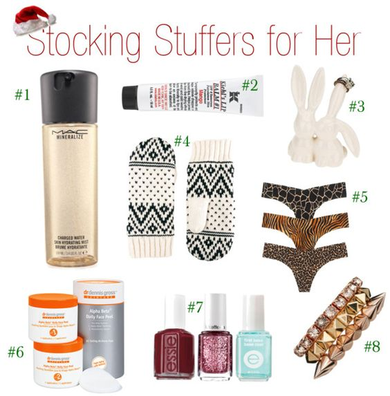 Stocking Stuffers For Her Stocking Stuffers And Stockings