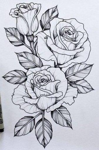 Super Tattoo Designs Ideas Draw Ink 70 Ideas Tattoo Design Drawings Beautiful Flower Drawings Flower Drawing