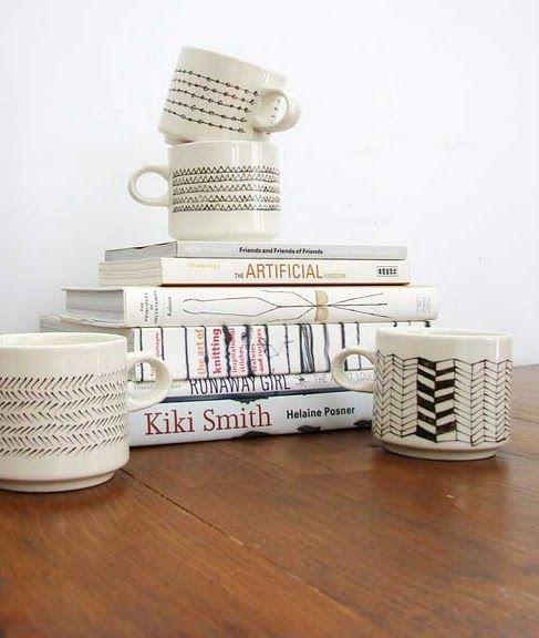 porcelaine pen & mismatchy mugs: Artsy Craftsy, Diy Craft, Crafty Projects, Aesthetic Outburst, Ceramics Ideas, Aestheticoutburst Blogspot