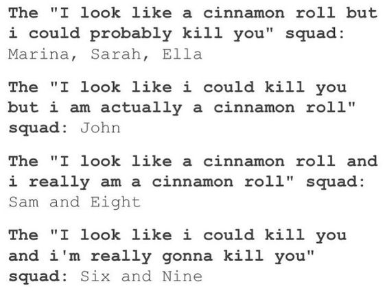 Sam could totally kill you. Sam is amazing. Nobody is better than Sam. NEVER UNDERESTIMATE THE POWERS OF SAM GOODE. <<< he's still a cinnamon roll though