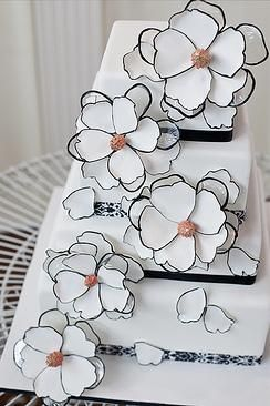 Wedding Cakes | Black + White: