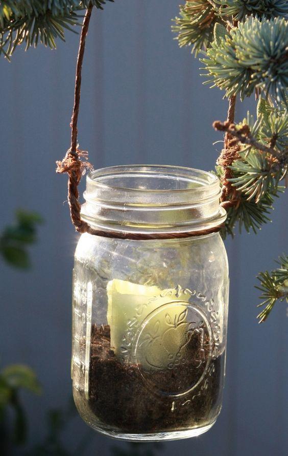 diy: mason jar lanterns...