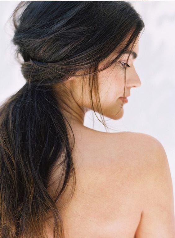 awesome Coiffure de mariage 2017 - DIY coiffure de mariage cheveux ...