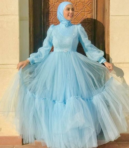 Soiree Hijab Dresses In Candy Colors Just Trendy Girls Fashion Dress Party Soiree Dress Women Dresses Classy