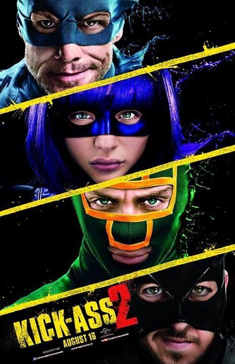 """Novo cartaz do filme """"Kick-Ass 2″ http://cinemabh.com/imagens/novo-cartaz-do-filme-kick-ass-2"""