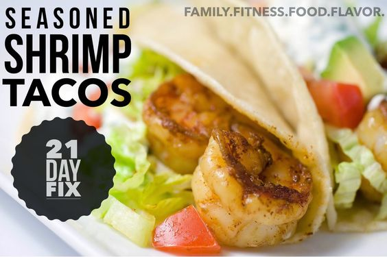 shrimp tacos with grilled poblano salsa recipes dishmaps shrimp tacos ...