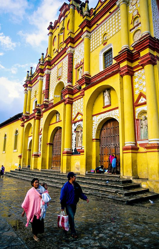 Catedral de San Cristobal de las Casas, Mexico