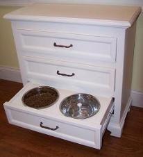 hidden dog bowls
