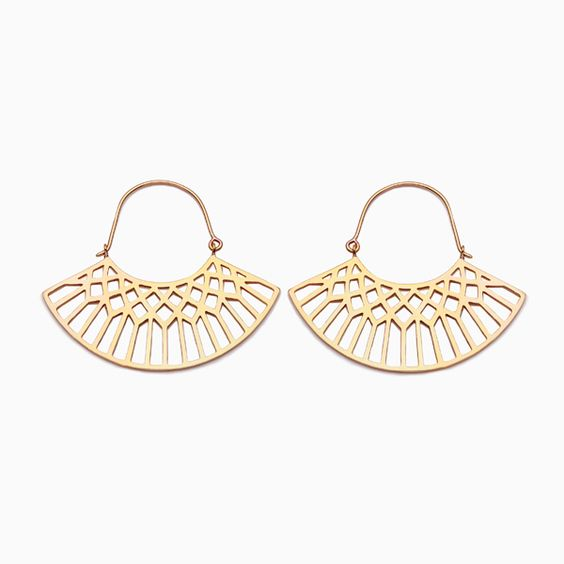 'Lattice' earrings from Naomi Murrell, available online or from her store in Adelaide.