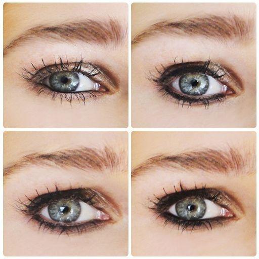 Por falar em olhos, aprenda a delinear e definir.   21 truques de beleza para as viciadas em maquiagem em treinamento