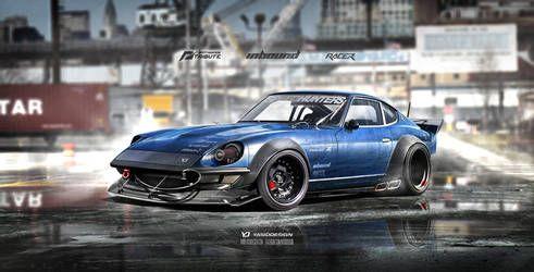 Inbound Racer 240z Datsun Nissan V2 By Yasiddesign Mobil