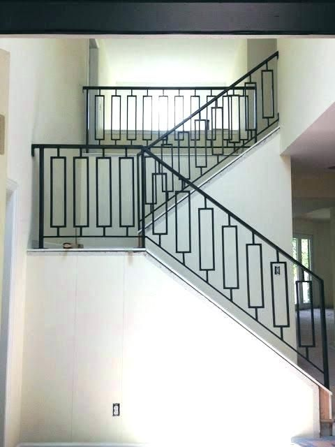 Pin By Aspect On Llano Home Metal Stair Railing Iron Stair
