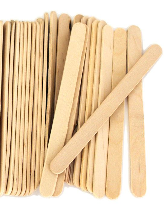 Wood craft sticks natural color from for Wholesale wood craft cutouts