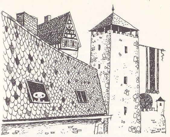 Das Kleine Gespenst Von Otfried Preussler Gespenst Grusel Bilder