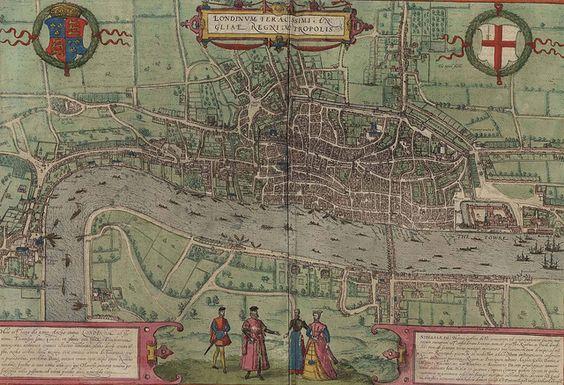 Londres (Gran Breteña) Planos de población 1572   Flickr: Intercambio de fotos