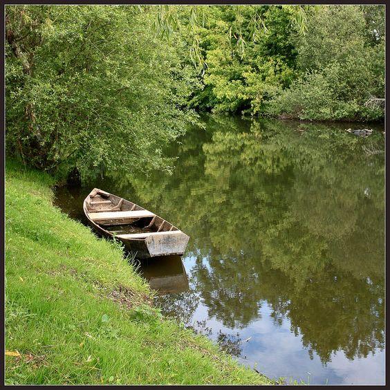Bord de Dordogne à Carennac - Lot