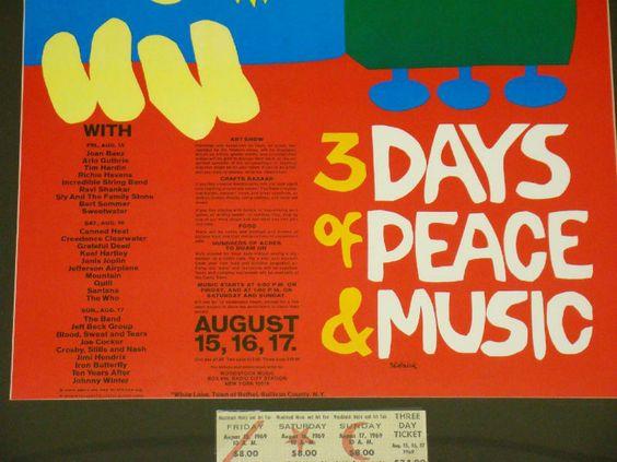 Em 1969, entre os dias 15 e 18 de agosto, acontecia numa fazenda em Bethel, cidade próxima a Nova York, nos Estados Unidos, o emblemático Festival de música de Woodstock. E para você que não esteve lá, os livros são uma ótima alternativa para saber um pouco mais sobre como foi o Festival, no mês de seu aniversário. Há algumas opções de exemplares bons e usados sobre o Festival de Woodstock no site Estante Virtual. Os preços variam de R$ 16,90 a R$ 20.