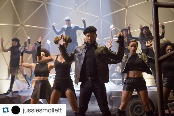 """#Regram @jussiesmollett #empire ・・・ Tonight. @empirefox #empirewednesday ✊"""