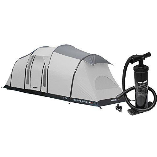 Moose Outdoors 6 Person Inflatable Family Tent For Camping No Metal Poles Here Air Beams Only Tents Camping Family Tent Camping Tent Camping Family Tent