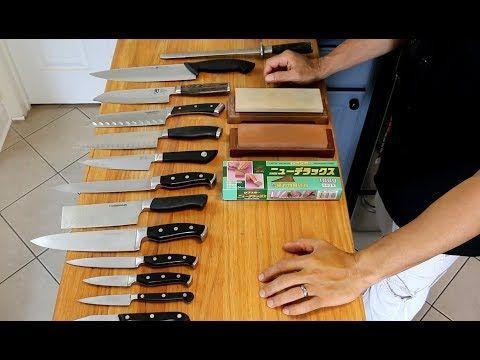 Como Afilar Cuchillos Y Mantener Las Piedras De Amolar Youtube Como Afilar Cuchillos Piedra De Afilar Cuchillos