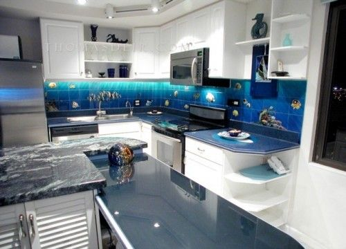 tropical themed kitchens kitchen design ideas - Themed Kitchen Design