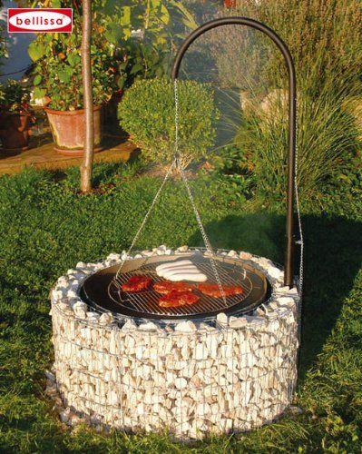 Gartengrill / Grillkamin / Grill selber mauern – Mit Ziegel oder Backsteinen