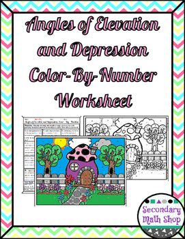... Angle Of Elevation And Depression Worksheet - Printable Worksheet