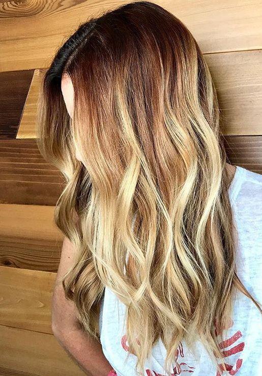 Fantastic Red Blonde Hair Colors Trends 2019 Spring Red Blonde