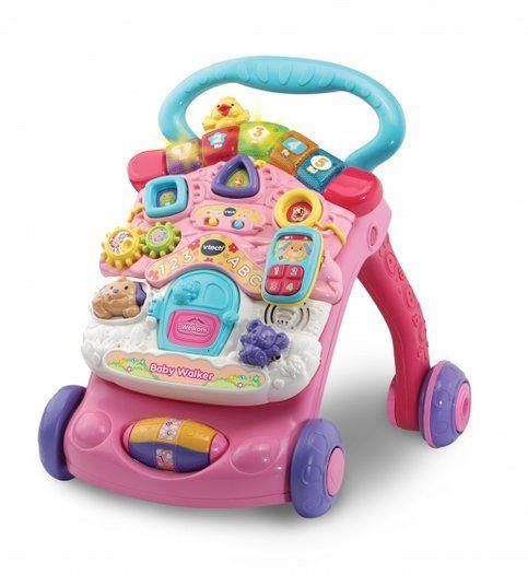Baby Walker Roze Loopwagen Baby Voor Kinderen Meisjes Speelgoed