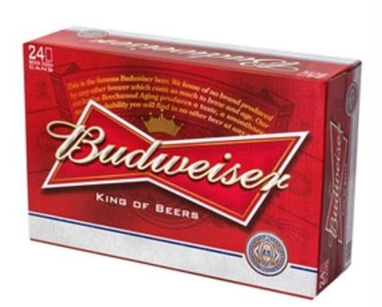 Bia Budweiser 5% - Lon 330ml - Bia Nhập Khẩu TPHCM