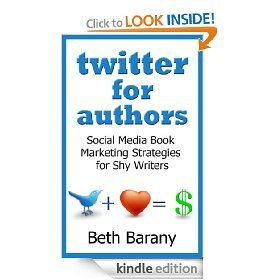 """http://www.amazon.com/gp/product/B009F1GMXY - Congratulations Caroline Jaffe-Pickett :-) re: """"I am thrilled to have my chapter on Twitter tips and tricks for writers included in Beth Barany's new book.  Hope your community enjoys!"""""""