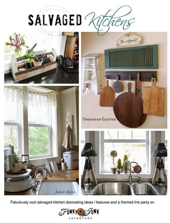 Creative funky junk and decorating ideas on pinterest for Funky junk home decor newfoundland